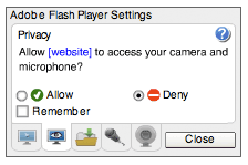 Deny your Flash player to prevent the hack