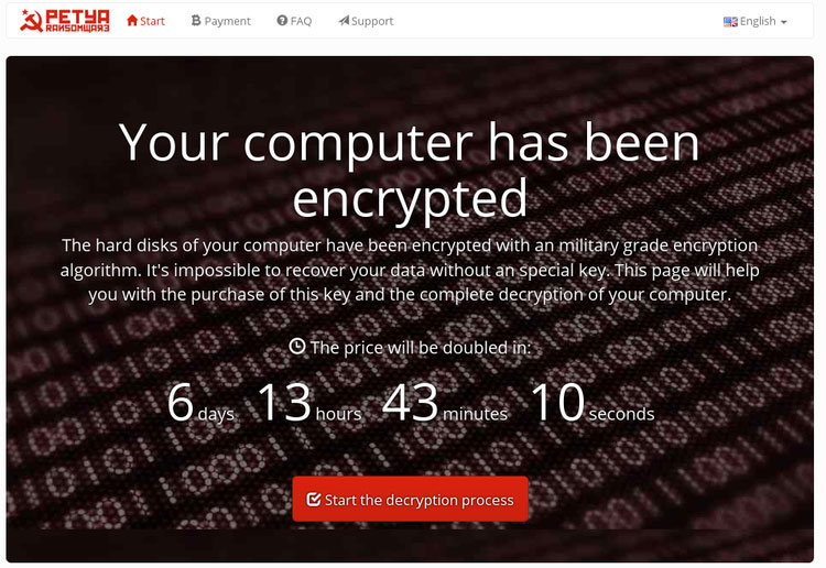 Petya Ransomware - What you should know and how to prevent it