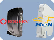 Install Rogers and Bell Routers