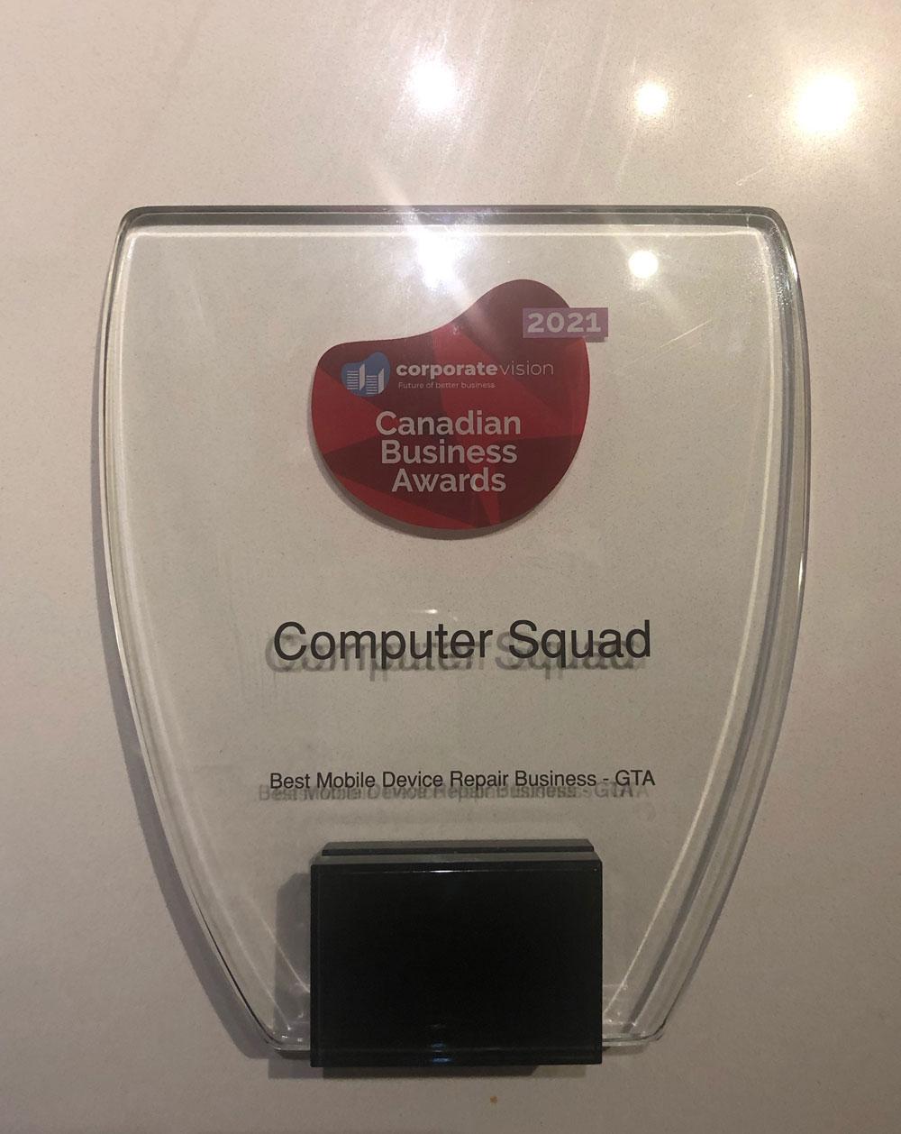 2021 Canadian Business Awards