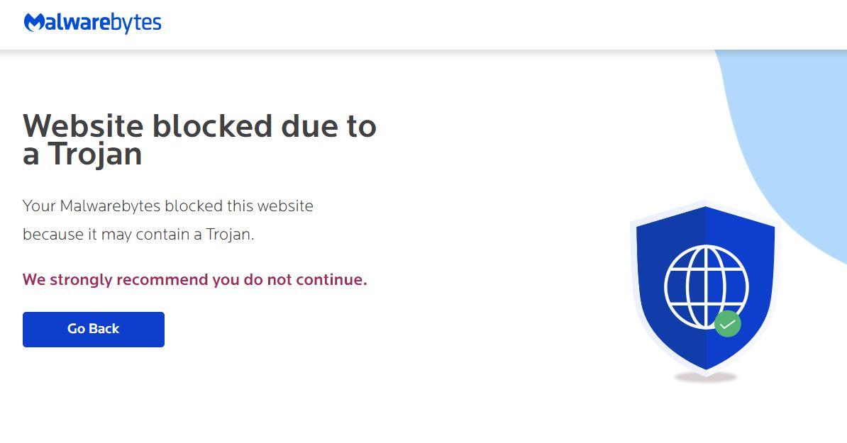 Block bad websites