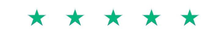 5 Stars Reviews on Google